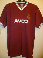 Bnwt West Ham United Home Retro Football Shirt 1986