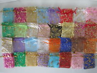 Organza Designed Wedding Party Favour Organza Bags Small 7x9cm