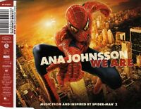 ANA JOHNSSON We Are (Music From And Inspired By Spider-Man 2) MCD 2004 OST Rock