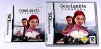 Spiel: GEHEIMAKTE TUNGUSKA für Nintendo DS + Lite + Dsi + XL + 3DS + 2DS