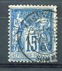 FRANCE timbre classique 90 type SAGE, oblitéré 1887