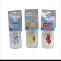 NEW Care Bears Baby Feeding Bottle 4oz (PBA Free) *Pink *Blue *Yellow