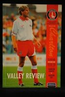PROGRAMME - D1 - Charlton Athletic vs Leicester City - 16 Oct 1993
