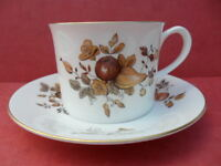 Royal Worcester, Golden Harvest, 1 x small Coffee Cup & Saucer