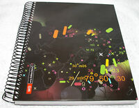 "Joshua Davis Maps Black Ruled Hard Cover Notebook Journal  5 3/4"" X 8 1/4"""