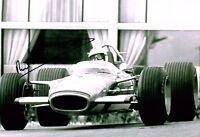 Richard Attwood GENUINE SIGNED Autograph 12x8 Photo AFTAL COA Formula One Driver