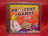 Pro-Cent Games 300 Spiele Karten,Mahjongg uvm..PC Spiel (=1)