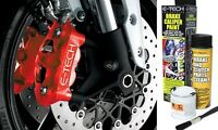 E-Tech High Quality Red Engine Bay & Wheel Hub Brake Caliper Paint Full Kit