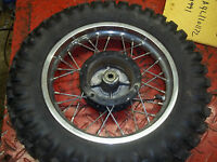 Suzuki JR 50L 1990  front tire and rim I have more parts for this bike others