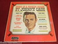 VINYL LP - STORY OF A BROKEN HEART - JOHNNY CASH - ALL 845