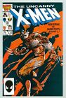 X-Men #212 December 1986 F/VF Wolverine Vs Sabretooth Round 1