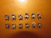 LOT OF 12 PCS OF HF TORODIAL TRANSFORMERS FOR HF TRANCEIVER NOS