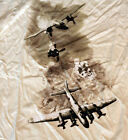 Life Magazine Cover Bomber Mission WWII Cream Adult T-shirt