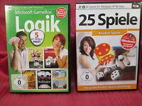 25 Spiele Knobel-Spiele + 5 x Logik,Knifflis,Solitaire,Mahjongg...PC Spiel (261)