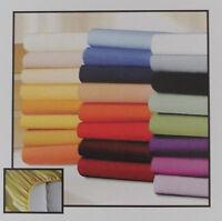 Luxus Jersey Spannbettlaken / Spannbetttuch versch. Farben und Größen