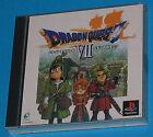 Dragon Quest 7 - Sony Playstation - PS1 PSX - JAP