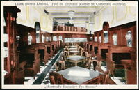 MONTREAL QUEBEC CANADA Diana Sweets Limited Vintage Restaurant Postcard Old PC