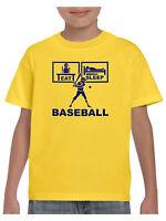Baseball T Shirt  with American Baseball Top Boys Girls