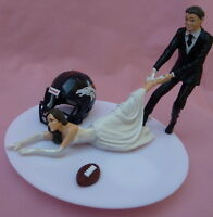 wedding cake toppers denver co new denver broncos football wedding cake topper ebay 26450