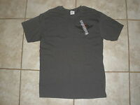 NEW MEN'S GRAY SHORT SLEEVE HOOTERS CROSS W/WING T-SHIRT CHICAGO SIZES M,L,XLXXL