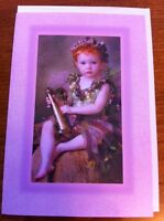 Autumn Fairy Blank Greeting Card - Pagan/Wicca