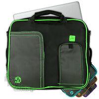 """17"""" 16.4"""" 15.6"""" Inch Black Laptop Notebook Carrying Briefcase Shoulder Case Bag"""