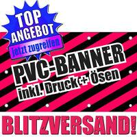 Werbebanner Werbeplane Plane Banner Druck 100 x 100 cm