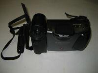 Sharp Viewcam VL-E33U Video 8 Camcorder - Black