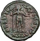 VALENS 364AD Ancient Roman Coin CHRIST EMBLEM CHI-RHO Labarum i21339