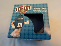 Berry Blue Scented M&M's Candle & Glass Holder - New & Boxed