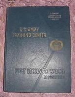 U.S. ARMY TRAINING CENTER FORT LEONARD WOOD MISSOURI D CO. FIFTH BATTALION 1974