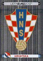 Panini Sammelbilder Fußball EM Euro 2012 Nr. 369 Wappen Logo Kroatien Hrvatska