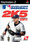 Major League Baseball 2K5 (Sony PlayStation 2, 2005)