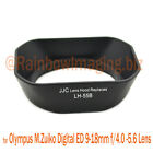 JJC Lens Hood replaces OLYMPUS LH-55B 4 M.ZUIKO DIGITAL ED 12-50mm 1:3.5-6.3 EZ