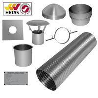 """7m 6"""" Flexible Multifuel Flue Liner Pack/kit For Stove"""