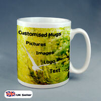 20 X BRAND NEW PERSONALISED CUSTOM GIFT  MUG YOUR IMAGE PHOTO LOGO OR TEXT