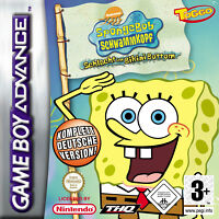 SpongeBob Schwammkopf Schlacht um Bikini Bottom Nintendo Game Boy Advance - GBA