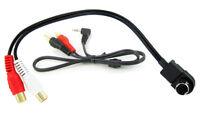 JVC Unilink AUX input 3.5mm jack lead car radio iPod MP3 adapter iPhone CT29JV01