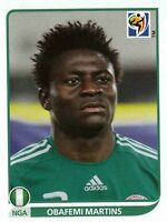 Panini Sammelbilder Fußball WM 2010 Nr. 142 Obafemi Martins NGA Nigeria NEUWARE