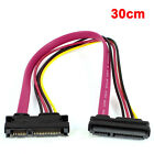 SATA 7+15Pin Female to Male Connector Combo Data Power Adapter Cable
