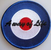MOD TARGET SCOOTER PATCH - QUADROPHENIA - A WAY OF LIFE