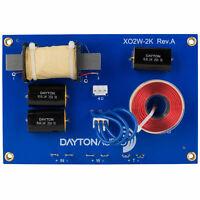 Dayton Audio XO2W-2K 2-Way Crossover 2,000 Hz
