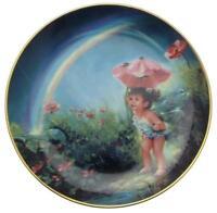 Danbury Mint The Enchanted Garden Under the Rainbow Mary Baxter St Clair CP1718