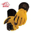 BSX® Premium 3 Kidskin Finger Cowhide Back TIG Welding Gloves Size X large