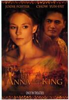 Anna and the King Reg Orig Movie Poster Dbl Sided 27x40