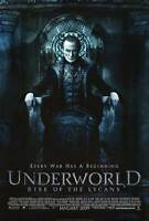 Underworld : Rise of the Lycans Adv A Movie Poster  DS