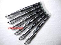 12 x Pilot P-700 0.7mm Fine point Pigment Type of Gel ink Ball Point Pen, Black