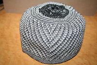 Acrylic Crochet  Kufi Topi Tupi Koofi Skull Head Men's Salaat Beane Cap Kofi