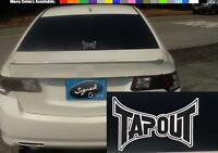 """(2) 5"""" Tap out tapout UFC martial belt box fight vinyl Decal sticker S366"""