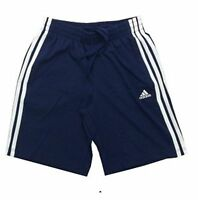 adidas boys junior 3 stripe navy shorts Sizes: 3 - 4 years & 13 - 14 years